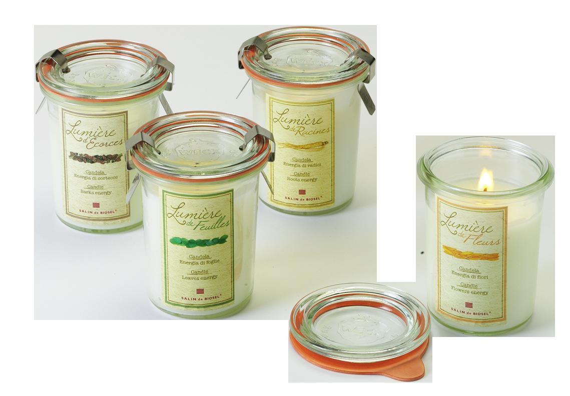 свечи Salin de Biosel